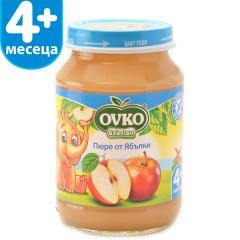 Ябълки без добавена захар от 4-ия месец 190 гр.