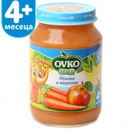 Ябълки и моркови от 4-ия месец 190 гр.