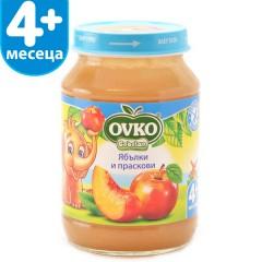 Ябълки и праскови от 4-ия месец 190 гр.