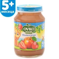 Ябълки и ягоди от 5-ия месец 190 гр.