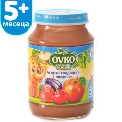 Асорти Градински плодове от 5-ия месец 190 гр.