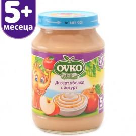 Десерт с йогурт Ябълки от 5-ия месец 190 гр.