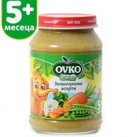 Зеленчуково асорти от 5-ия месец 190 гр.