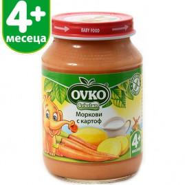 Морков и картоф от 4-ия месец 190 гр.