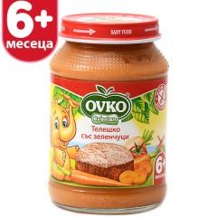 Телешко със зеленчуци от 6-ия месец 190 гр.