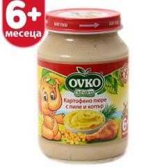 Картофено пюре с пиле и копър 190 гр.
