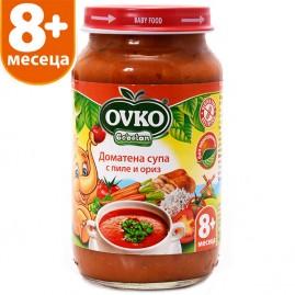 Доматена супа с пиле и ориз 220 гр.