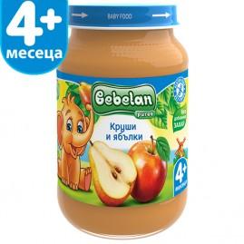 Круши и ябълки от 4-ия месец 190 гр.
